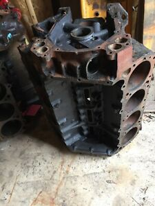 1967 Mopar 383 Bare Block Dated 5 22 67 Chrysler Dodge Plymouth Std Bore
