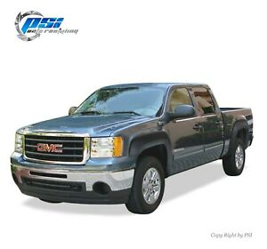 Textured Oe Style Fender Flares Fits Gmc Sierra 1500 2007 2013 5 8 Ft Bed Only