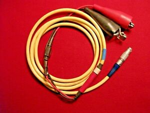 Trimble Gps Power Cable 5 Pin Lemo 1 alligator Charger Battery Receiver Radio
