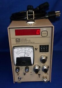 Ludlum 2200 Scaler Rate Meter Sca Geiger Radiation Current Style Tested Working