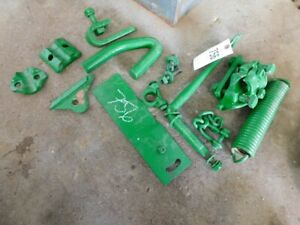 John Deere M Tractor Spring Misc Hitch Parts Part r912 a Tag 756
