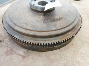 Allis chalmers 190 Tractor Flywheel W Ring Gear Part 4020291 Tag 763