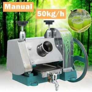 Sugar Cane Machine Manual Press Juicer Commercial Extractor Squeezer Mill 50kg h