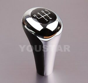 Us Stock Bright Chrome Manual Gear Shift Knob 5 Speed Mt For Bmw 1 3 5 Series Z3