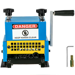 Portable Manual Wire Stripping Machine Metal Tool Scrap Cable Stripper