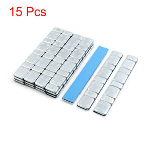 2 1oz Adhesive Back Wheel Balance Weights Strips For Motorcycle 124 X 18mm 15pcs