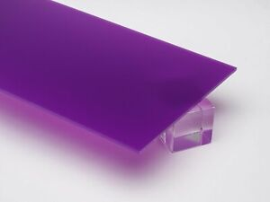1 8 3mm Purple Violet 12 x12 Translucent Acrylic Plexiglass Sheet Azm