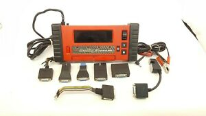 Snap On Tools Code Scanner Model Mtg2500 W Attachments And Manual