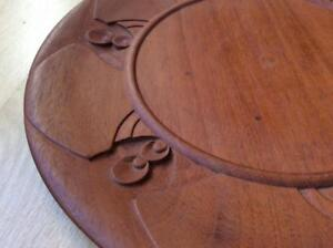 14 Antique Art Deco Nouveau Danish Modern Teak Tray Platter Wilson Carving