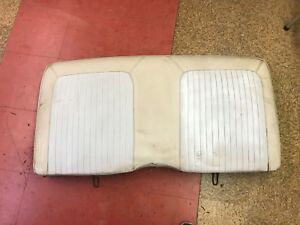 1967 1968 Mustang Coupe Rear Seat Back Frame Top Upper