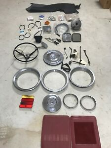 Assorted Classic Vintage Car Parts Lot Swap Meet Hot Rod Rat Rod