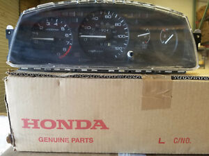 95 Honda Civic Si Gauge Cluster With Tach 5spd Mt Rare Eg 92 93 95 Jdm Usdm