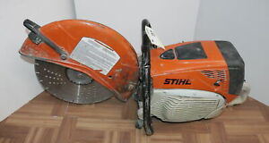 Stihl Ts 800 Concrete Gas Powered Cut Off Saw 16 With Blade free Shipping