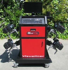 John Bean Visualiner Alignment Machine 2006 Software With Extra Sensor Heads