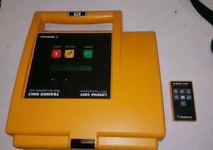 Medtronic Lifepak 500t Aed Training System W Remote