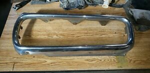 1970 Dodge Coronet Front Bumper Right Passenger Use As Is Nice Chrome Straight