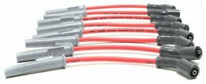 Msd Spark Plug Wire Set 32829 Super Conductor 8 5mm Red For Chevy Ls Trucks