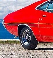 1972 Gran Torino Wheel Well Trim Passenger Side Right Rear