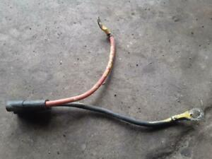 Used Meyer E47 E46 Pump Battery Cable Snow Plow 15670 Single Ground Motor Plug