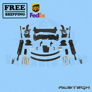 6 Perform Sys W Front Coilovers Fabtech For 15 Toyota Tacoma 6 Lug 2wd 4wd