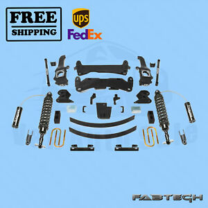 6 Performance Sys W Front Coilover Fabtech For 15 Toyota Tacoma 6 Lug 2wd 4wd
