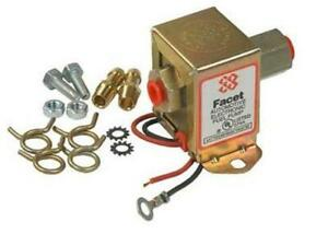 New 12v Facet Solid State Fuel Pump Kit 4 7psi Carbureted Engines Facet 40100
