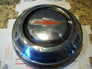 67 68 Chevy 1 2 Ton Truck 15 Hubcap One Stainless Chrome Suburban