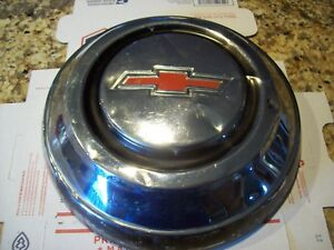 1967 1968 67 68 Chevy 1 2 Ton Truck 15 Hubcap One Stainless Chrome Suburban