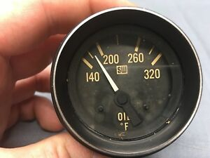 Vintage Stewart Warner Oil Temp Gauge A10