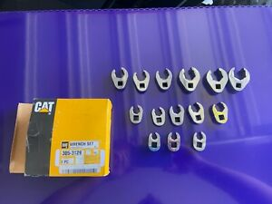Cat Tools Usa 305 3129 14pc Flare Nut Crows Feet Wrench Set Nib Free Shipping
