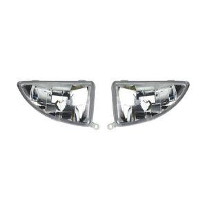 New Pair Of Fog Lights Fit Ford Focus High Mid 2003 04 Fo2593177 Ys4z 15l203 Bb