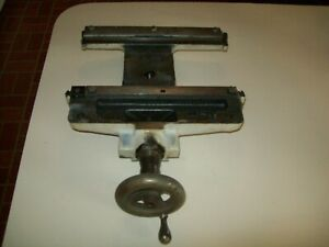 Heavy Steel Cast Saddle Assembly 10f 9 From Vintage Atlas 10 Metal Lathe