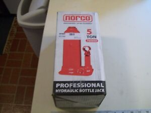 Norco Professional 5 Ton Hydraulic Bottle Jack 76505a New Old Stock With Handle