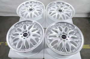 17 Wheels Scion Xa Xb Corolla Civic Accord Interga Escort White Rims 4 Lugs New