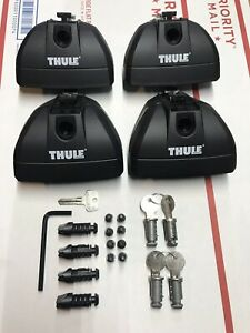 Thule Rapid Podium Foot Pack 460r Brand New With Locks