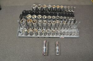 Matco Tools Silver Eagle 3 8 Set Metric And Sae 6 Point Shallow And Deep