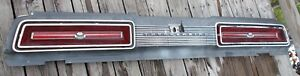 1969 Ford Thunderbird T Bird Tail Lights Trim Panel With Housing Assembly Gc
