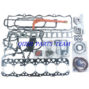 Fe6t Engine head Full Gasket Set For Nissan Fe6 Fe6t 24 valves Diesel Engine