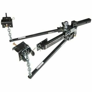 Husky Towing 31620 Trunnion Bar Hitch With Sway Control And Ball Mount