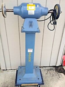 Baldor 3 4 Hp Industrial Buffer polisher Model 333b With Stand Heavy Duty
