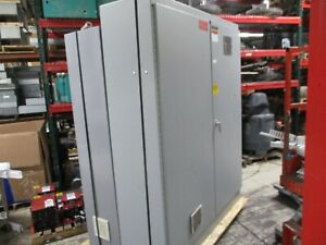 Hoffman Type 12 Enclosure A 907220fsd 2 door Size 90x72x20 Used