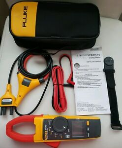 Fluke 376 Fc Wireless True Rms Ac dc Clamp Meter I2500 18 Iflex Flex Cable