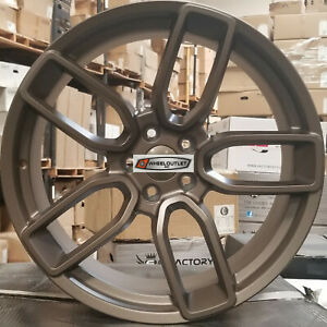 20 Staggered Flow Forged Wheels Bronze Rims Tires Fit Dodge Challenger Charger