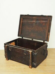 Rare Folmer Schwing Division Wood Crate Early 1900 S Kodak Military Camera