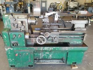 cadillac Gap Bed Tracer Lathe 14 21x28 220v Or 480v 3 Phase