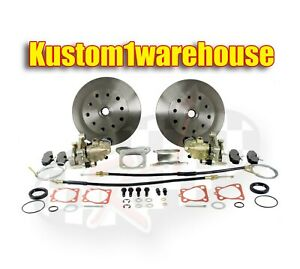 Rear Disc Brake Conversion Kit For 73 79 Vw 5 Lug Chevy W emergency Parking