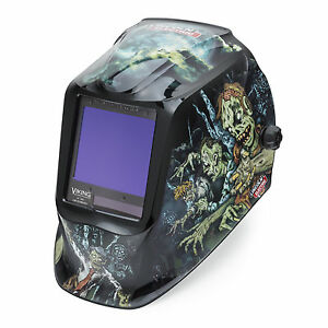 Lincoln Viking 3350 Zombie Welding Helmet K4158 3