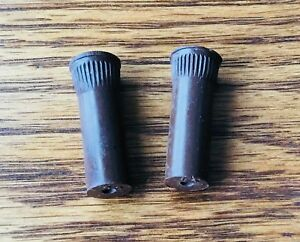 1935 1941 Buick Chevy Pontiac Oldsmobile Cadillac Door Lock Knobs 2 Brown Nors