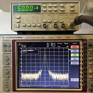 Wavetek Datron Model 81 50mhz Pulse function Generator Rs488 2 gp