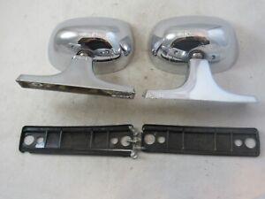 Vintage Pair Of Car Exterior Roberk Mirrors 1950 S 1960 S Ford Chevy Dodge